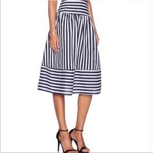 J.O.A Los Angeles JOA striped skirt women's Large